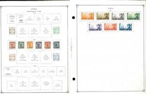 Libya 1941-1985 Mint & a few Used Hinged on Scott International Pages