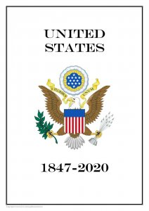 USA United States 1847- 2020  PDF (DIGITAL) STAMP  ALBUM PAGES