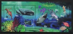 AUSTRALIA SGMS1828 1998 YEAR OF THE OCEAN MNH