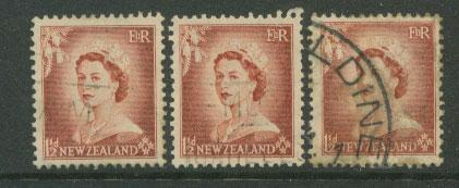 New Zealand  SG 725 shades VFU unchecked for wmk