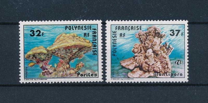 [48833] French Polynesia 1979 Marine life Corals Fish MNH