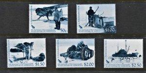 STAMP STATION PERTH Ross Dependency #L99-L103 Expedition Set  MNH CV$15.00