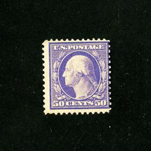 US Stamps # 341 Fresh OG LH Catalogue Value $275.00