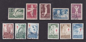 Finland x 3 used charity sets