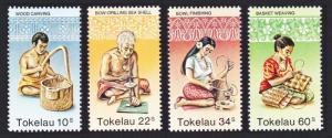 Tokelau Handicrafts 4v SG#81-84 SC#81-84