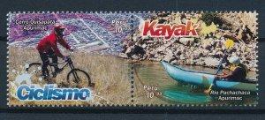 [I851] Peru 2018 sport good set of stamps very fine MNH