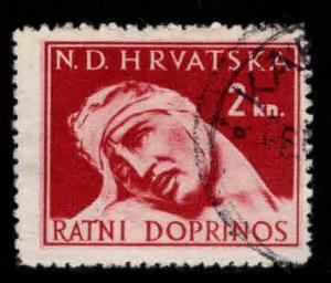 Croatia Scott RA4 Used Postal Tax stamp