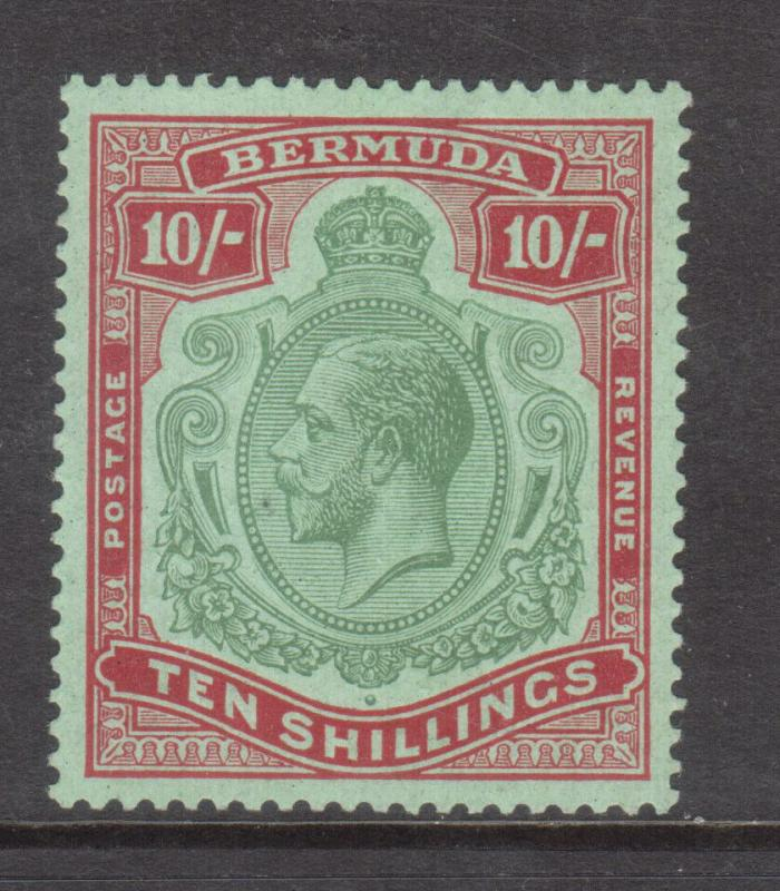 Bermuda #96 Very Fine Mint Lightly Hinged