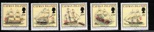 CAYMAN ISLANDS - Wreck of the Ten Sail - 200th Anniversary - SG788-792