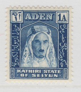 British Colonies Aden 1942 1a MH* Stamp A22P15F8666