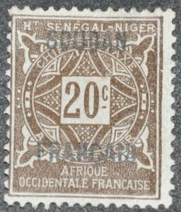DYNAMITE Stamps: French Sudan Scott #J4 – UNUSED