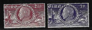 Ireland - 1948 Insurrection Set mint #135-136
