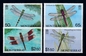 [71079] Montserrat 1983 Insects Dragonflies  MNH