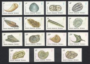 BAT Fossils 15v SG#171-185