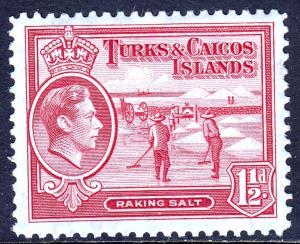 Turks and Caicos Islands - Scott #81 - MH - SCV $0.45