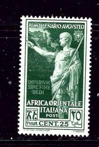 Italian East Africa 23 MH 1938 issue