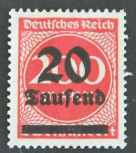 DYNAMITE Stamps: Germany Scott #246 – UNUSED