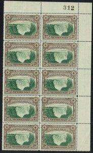 SOTHERN RHODESIA 1935 VICTORIA WATERFALL 2D MNH ** BLOCK PERF 12.5
