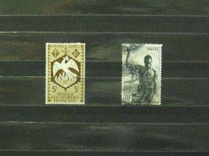 4259   Fr. Equat. Africa   MH/U # 142, 181        CV$ 1.05