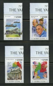 SIERRA LEONE  2020  75th ANNIVERSARY OF THE YALTA CONFERENCE FDR SET  MINT NH