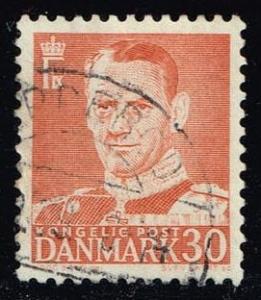 Denmark #335 King Frederik IX; used (0.50)
