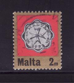 Malta 439 U Coins on Stamps (B)