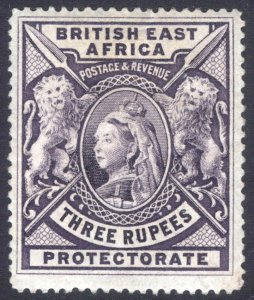 KUT-BEA 1897 3r Deep Violet SG 94 Scott 104 MM/MH Cat £170($230)