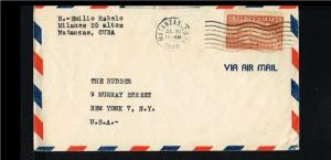 1948 - Cuba Flight cover - Transport - Airplanes - From Cuba to USA [GJ047]