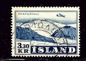 Iceland C29 Used 1952 issue    (ap2650)