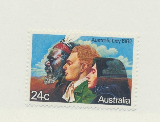 Australia Scott #820, Mint Never Hinged MNH, Australia Day Issue From 1982 - ...