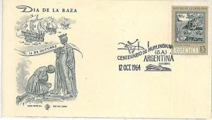 12260 - ARGENTINA - POSTAL HISTORY - SPECIAL POSTMARK on COVER 1950 - POLO Sport
