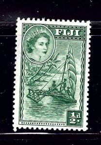 Fiji 147 MH 1954 Outrigger Boat          (P126)