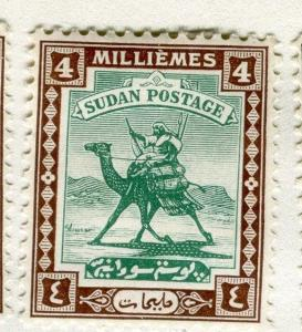 BRITISH E. AFRICA PROTECTORATE;  1927 Camel Rider issue Mint hinged 4m.