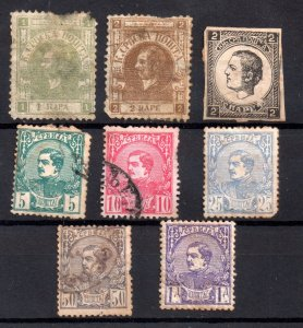 Serbia 1866-1880 collection with faults WS17141