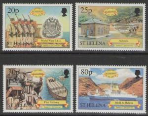 ST.HELENA SG828/31 2001 DISCOVERY OF ST HELENA MNH