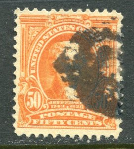 #310  Fifty cent Jefferson Orange CV $40.00⭐⭐⭐⭐⭐⭐