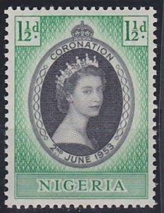 Nigeria 79 MNH (1953)