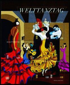 United Nations - Vienna Scott 583 (2016) International Dance Day, Mint NH VF C