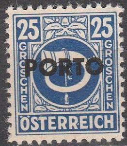 Austria #J197 MNH