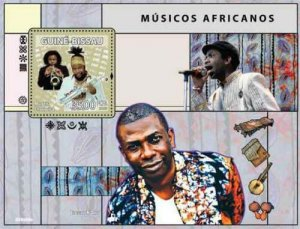 Guinea-Bissau MNH S/S African Musicians