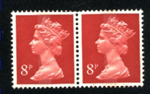 Great Britain MH11   pair   1961  used VF  PD