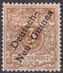 German New Guinea #1b  F-VF Unused CV $30.00  (Z4690)