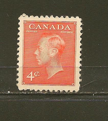 Canada 306 King George VI Single MNH