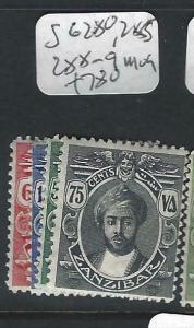 ZANZIBAR  (P0303B)  SULTAN  SG 280,285, 288-9   MOG