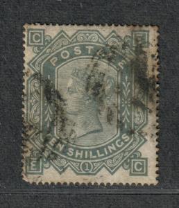 Great Britain Sc#74 Used/F-VF, Wmk #26-Tiny Thin At Top, Cv. $3250