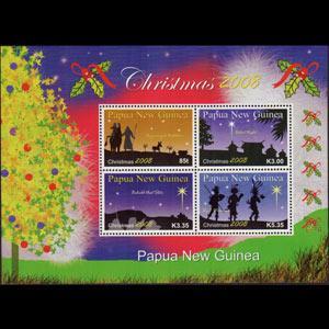 Papua New Guinea MNH S/S 1354 Christmas 2008