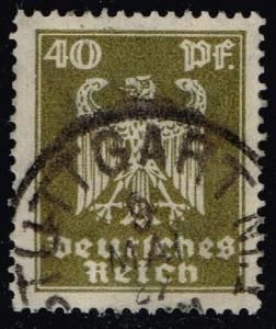 Germany #335 Eagle; Used (0.75)