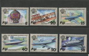 Fiji - Scott 454-457 - General Issue - 1981 - MNH -  Set of 6 Stamps