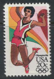USA Used  SC# 2083 Long Jump Olympics 1984 see details