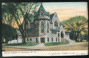 Baptist Church Temple Charleston WV Doane DPO Luka 1907